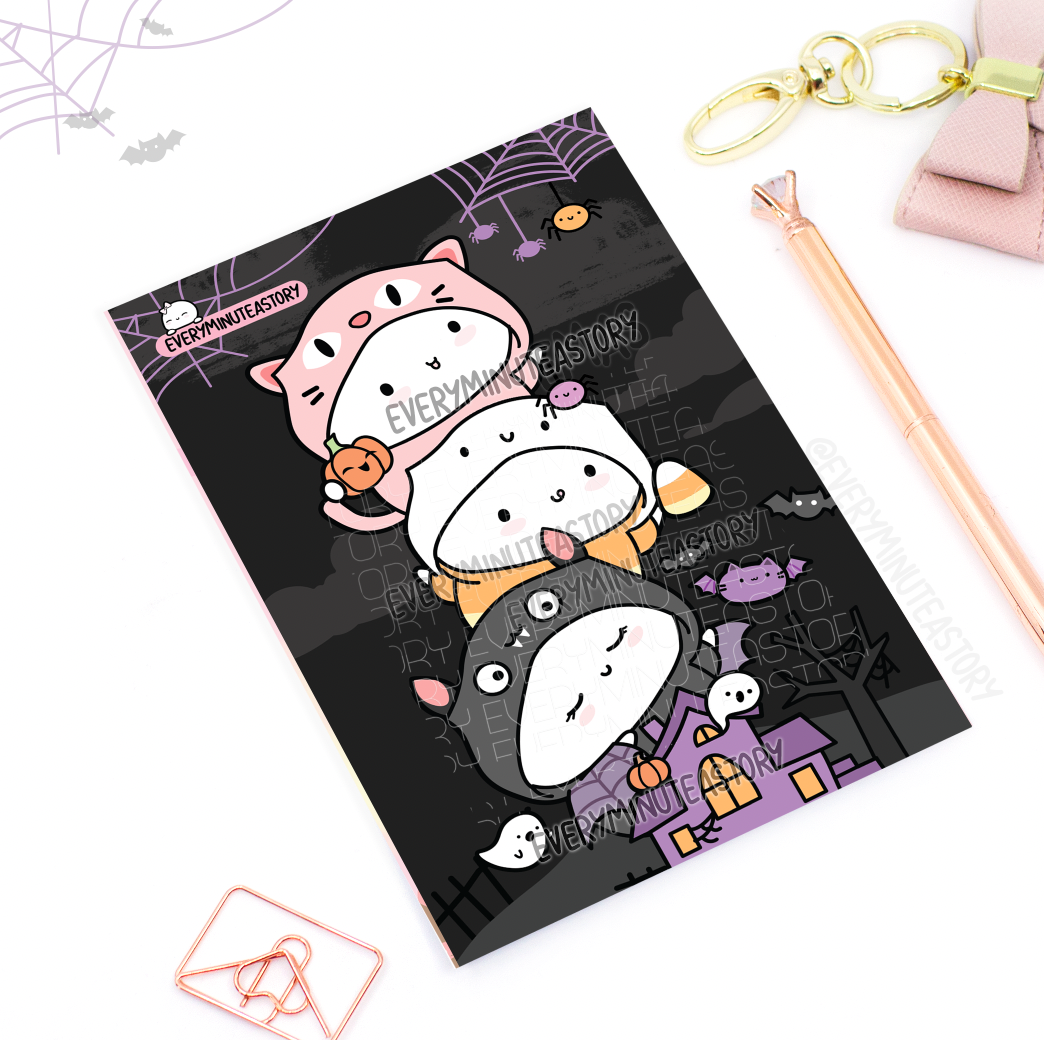 Trick or Treat Halloween Journaling/Postcard- LIMITED STOCK!