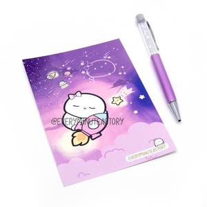 Twinkling far in space Beanie Journaling/Postcard- LIMITED STOCK!