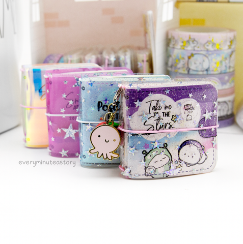 Jelly Cover for mini sticker books | Holds up to 3 books | Limited Stock!!