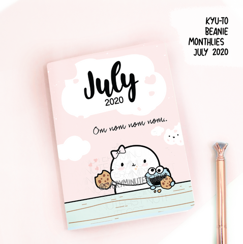 July 2020, Kyu-to Beanie Monthlies | Printed Insert, Inserts