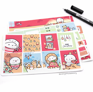 Holiday Magic hand-drawn kit- mini and full kit- LOW STOCK!