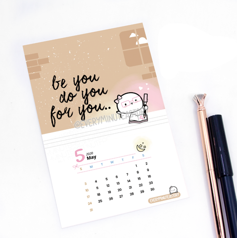 May 2020 Beanie Journaling/Postcard- LIMITED STOCK!