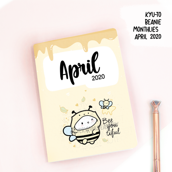 April 2020, Kyu-to Beanie Monthlies | Printed Insert, Inserts- LOW STOCK!