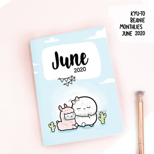 June 2020, Kyu-to Beanie Monthlies | Printed Insert, Inserts