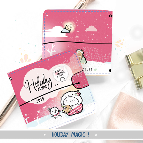 Holiday Magic sticker book