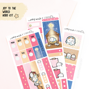 Christmas Nativity Beanie Hobonichi weeks kit, LIMITED EDITION