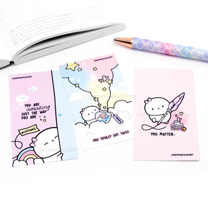 Positive potions notecards/mini journaling cards set of 3- LIMITED STOCK!