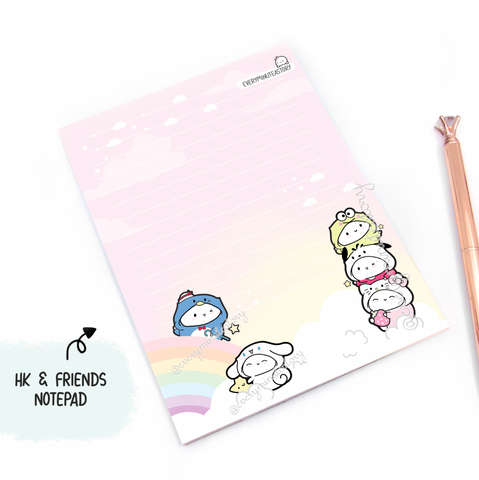 Hello Kitty and friends notepad | sanrio |-LIMITED STOCK!