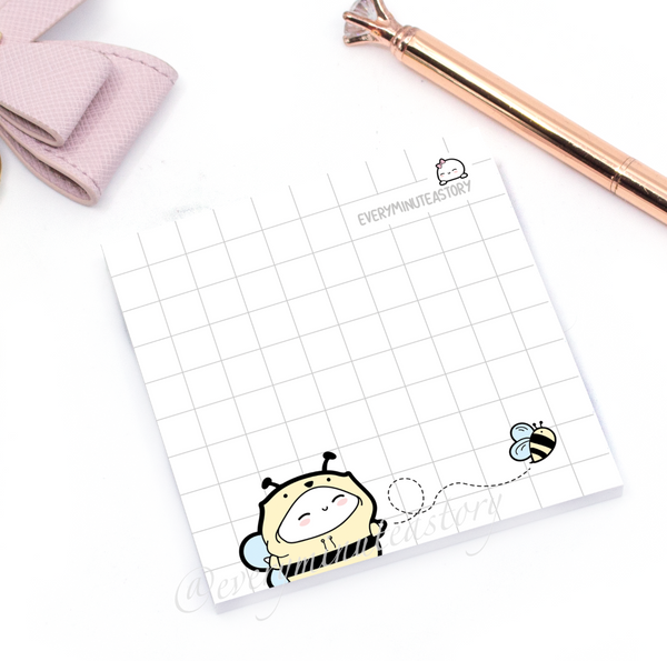 LIMITED STOCK!! Bee-nie Sticky Notes- 'Hello Sunshine' Collection