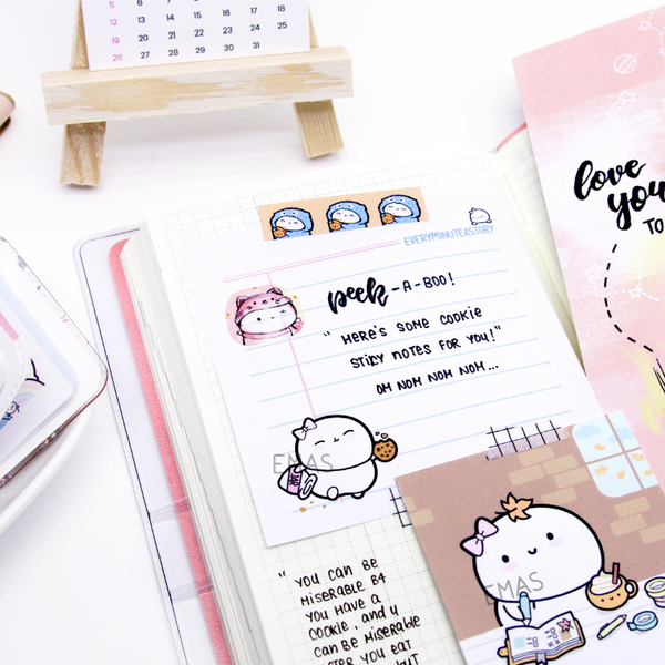 Cookie lover Beanie Sticky Notes- LIMITED STOCK!