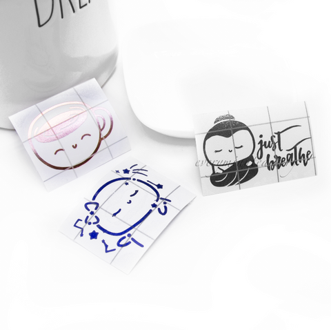 Just breathe buddha, Beanie mug and constellation Vinyl decal | LIMITED STOCK