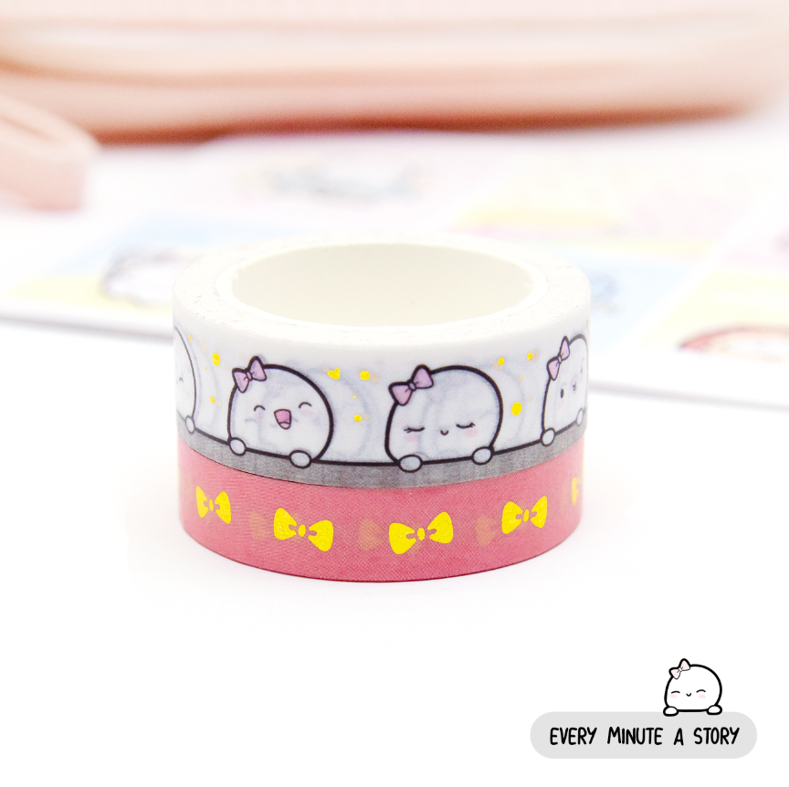 Beanie peek-a-boo washi, Gold foil | Limited Stock!!