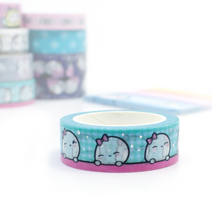 Limited Stock! Beanie silver foil pool washi-LOW STOCK!