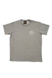 RH GYM Raw Tee Grey Melange