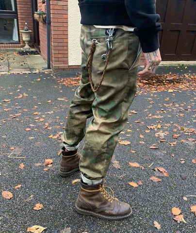 English Worker Trouser - Camo