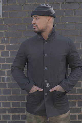 English Worker Jacket - Black