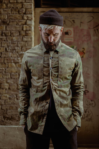 English Terrace Overshirt - Camo