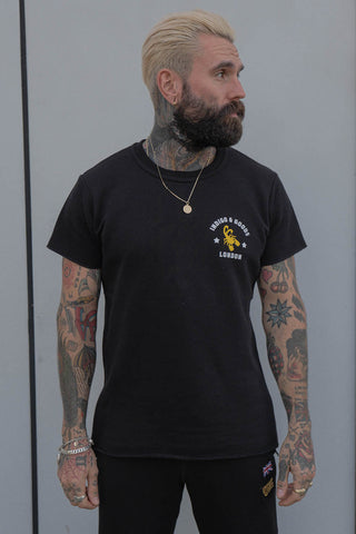 SCORPION GYM Raw Tee Black