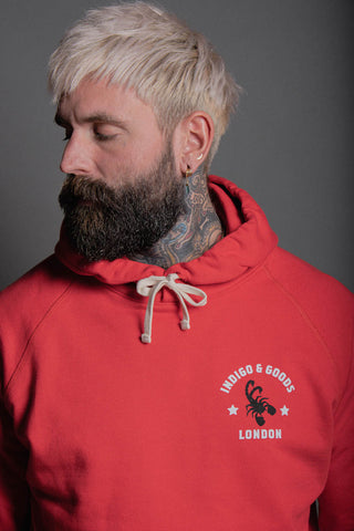 SCORPION GYM Hoody Red
