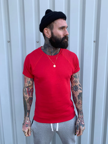 SCORPION GYM Blocked Tee Red - Originals