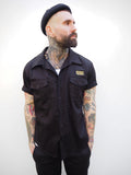 English Prison Patch Shirt - Black