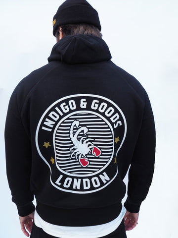 SCORPION GYM Hoody Black