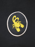 SCORPION GYM Blocked Sweatshirt Black - Patches