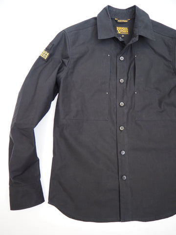 English Terrace Overshirt - Bullet Cloth Black