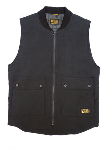 Stealth Zip Gilet - Bullet Cloth Black