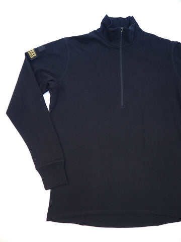 Stealth Zip Top - Black
