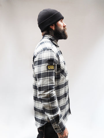 Service Shirt - Black/Grey Check