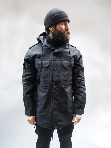 Stealth Parka - Bullet Cloth Black