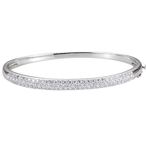 Bangle Diamond Bracelet