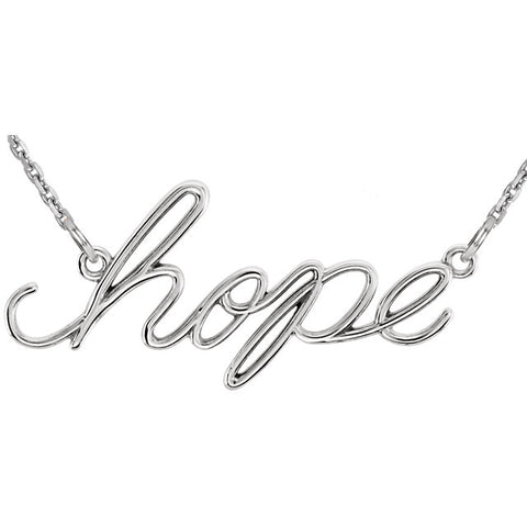 "Necklace ""Hope"""