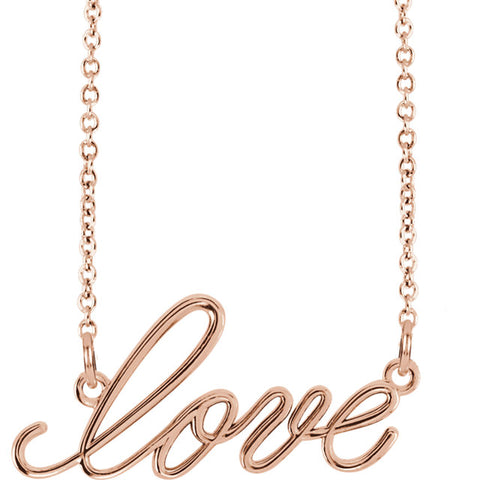 "Necklace ""Love"""