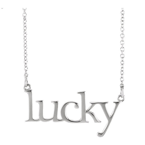 "Necklace ""Lucky"""