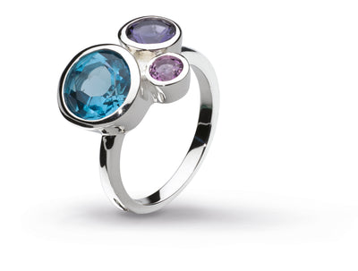 Blue Cascade Ring WAS £95 NOW £57