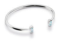 Kit Heath Manhattan Bar Sky Blue Torque Bangle