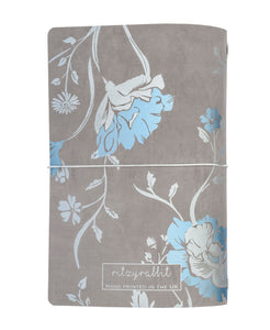 Silhouette Floral Grey Journal