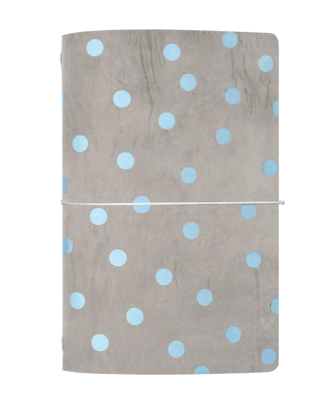 Polka Dot Grey Journal