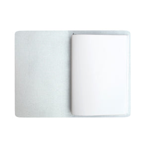 Polka Dot White Journal