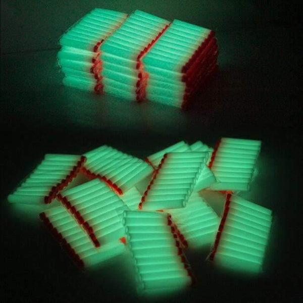 Glow in the dark Nerf darts! (40 Pack) - Glistco