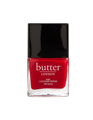 nail polish red chemical-free natural butter london