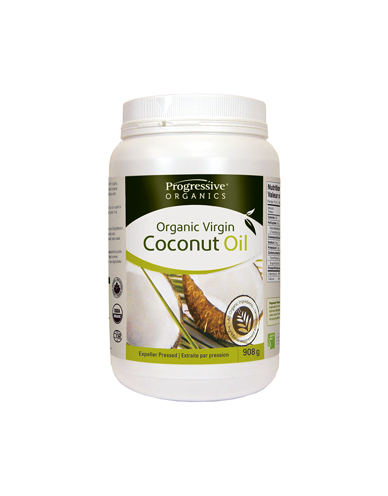 Organic Virgin Coconut Oil, Unflavoured