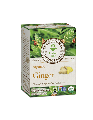 Best Seller: Traditional Medicinal Organic Ginger Tea