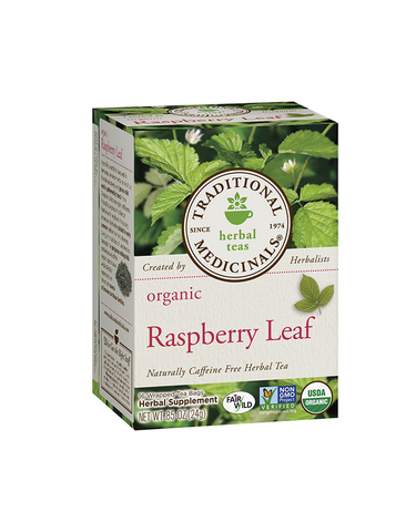 Traditional Medicinals Organic Raspberry Leaf Tea
