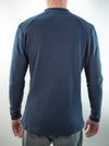 Uptown Long Sleeve Henley // Navy