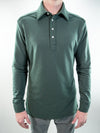 Legacy Long Sleeve Polo // Pine