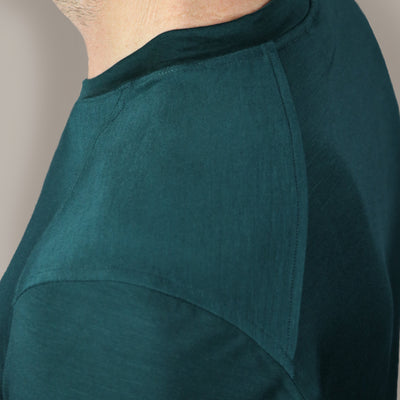Tall Mile High Crew Neck // Viridian Green