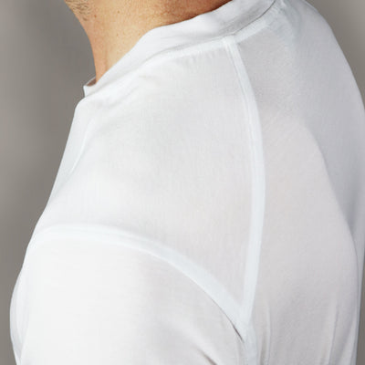 Highland V Neck // White